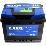 Exide Excell EB 621 / 62Ah 540A