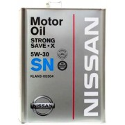 NISSAN STRONG SAVE X SN/GF-5 5W30, 4л