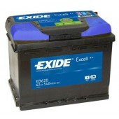 Exide Excell EB620 / 62Ah 540A