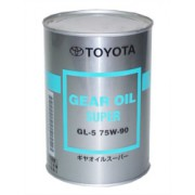 TOYOTA Gear Oil Super GL-5 75w-90 1л. (трасмиссионное масло)