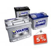 Аккумуляторы - Varta