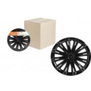 Колпаки колесные 14 дюймов Скай, черный глянец