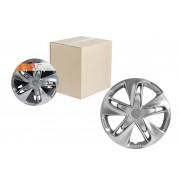 Колпаки колесные 16 дюймов Супер Астра, серебристый, карбон