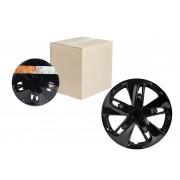 Колпаки колесные 16 дюймов Супер Астра, черный глянец, карбон