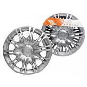 Колпаки колесные 16 дюймов Х5, серебристый
