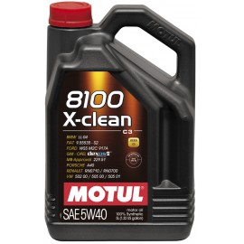 MOTUL 8100 X-Clean  5W-40 C3 (5л)