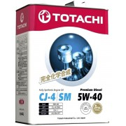 TOTACHI - Premium Diesel  Fully Synthetic  CJ-4/SM  5W-40  6л.
