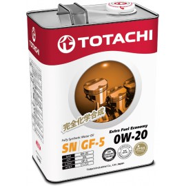 Totachi - Extra Fuel  Fully Synthetic  SN  0W-20  4л.